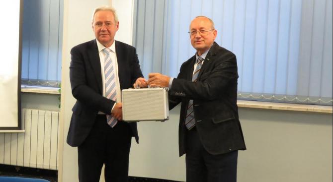КРИБ пое ротационното председателство на АОБР за 2020 г.