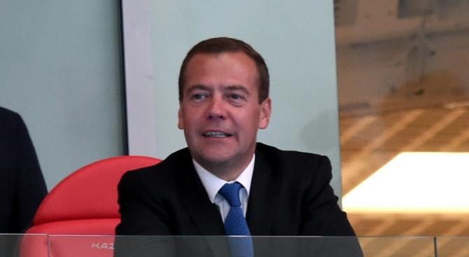 Никой не бе против наследника на Дмитрий Медведев