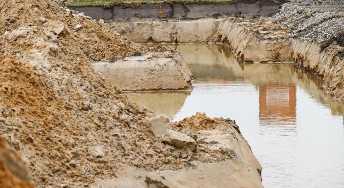 Откриха яма с животински останки в старозагорски квартал
