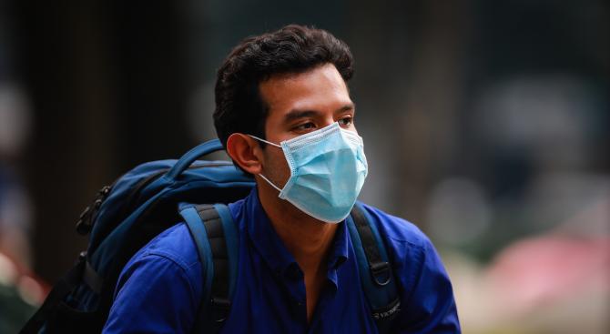 Маските не могат да ни предпазят от серния диоксид