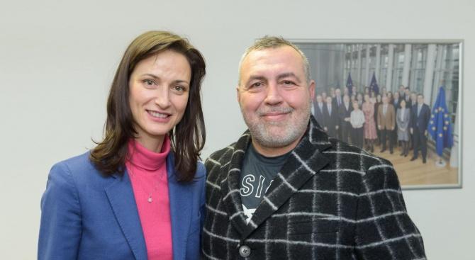 Христо Мутафчиев се срещна с еврокомисаря Мария Габриел