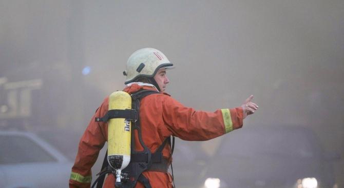Пожарникарите в Горна Оряховица на крак заради дим в градската болница