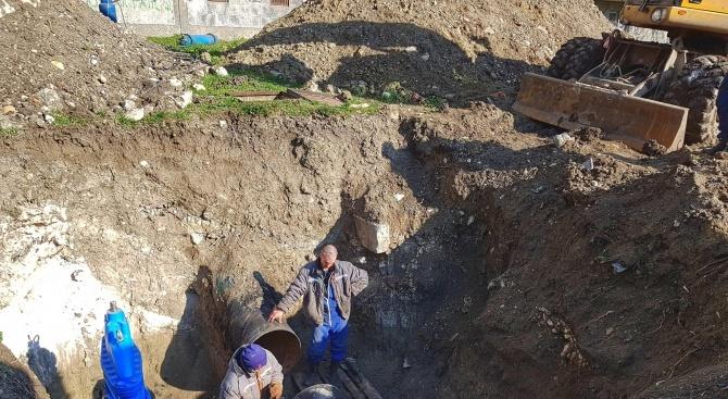 Започна цялостна подмяна на водопроводната мрежа в село Зимница