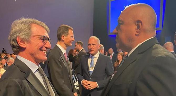 Борисов се срещна със Сасоли