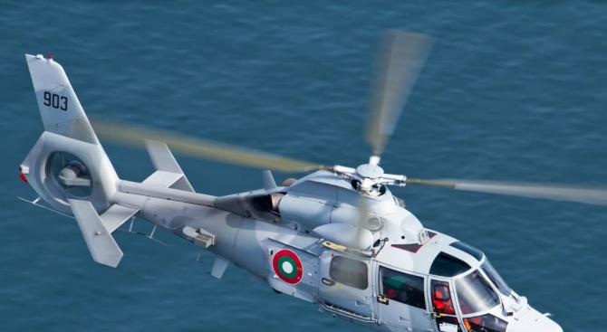 Военен вертолет транспортира родилка в тежко състояние от Силистра до Варна