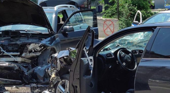 Катастрофа на пътя Хасково – Димитровград: Има ранен