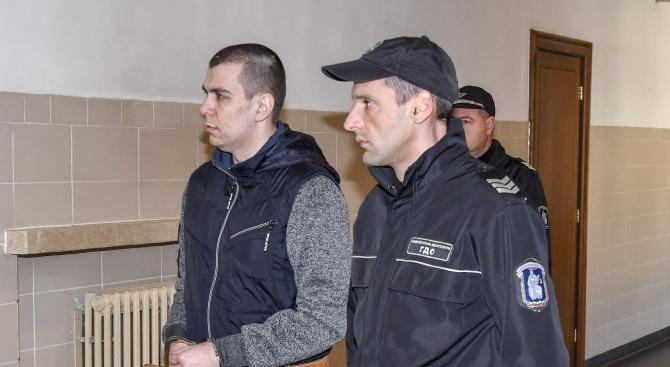 Тръгна делото срещу Викторио, обвинен за убийството на приятелката си Дарина и детето им