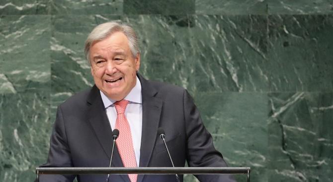 Лидерът на ООН посочи конниците на Апокалипсиса