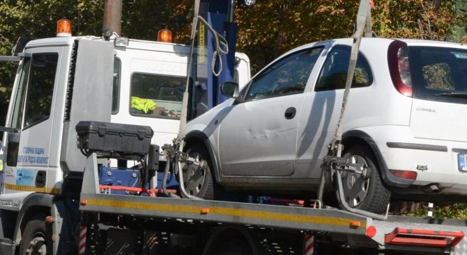 Паяк ще лови от понеделник в Търговище автомобилите, които са паркирани неправилно