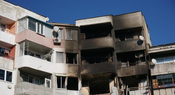 Ограничен е достъпът до засегнатите от взрива във Варна апартаменти