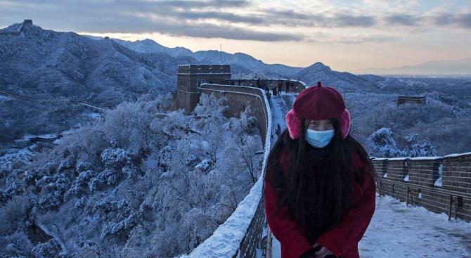 Затвориха част от Китайската стена, заради новия коронавирус