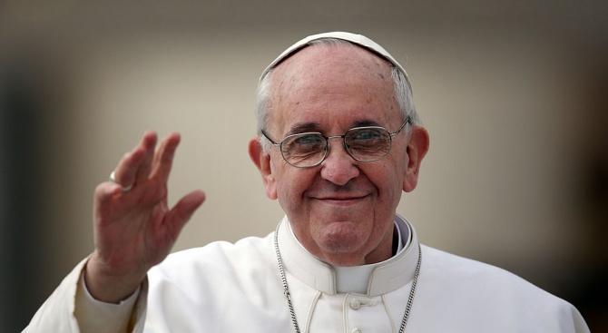 Папа Франциск прие на аудиенция Майк Пенс