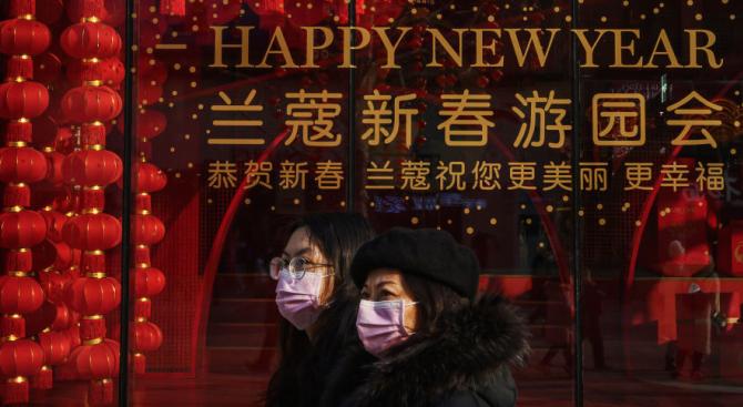 Отмениха тържествата за лунната Нова година в Китай