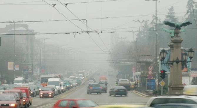 Софиянци отново дишат мръсен въздух