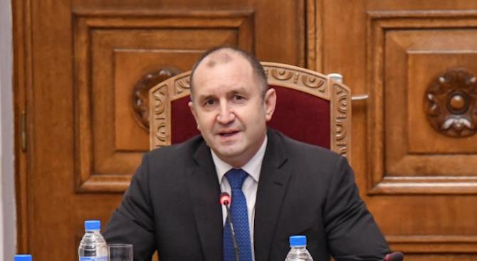 Румен Радев с отчет за трите години от встъпването си в длъжност