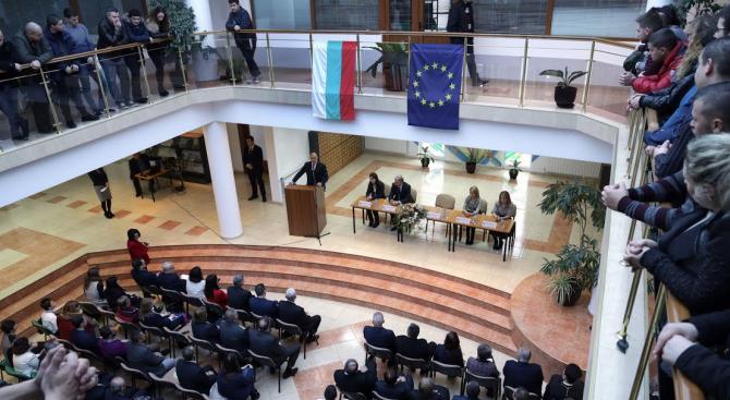 Президентът Радев: Няма малки и големи нации, има нации с малки и големи амбиции