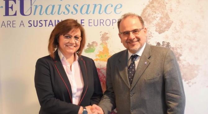 Нинова: Зелената сделка трябва да защити българската индустрия и работни места