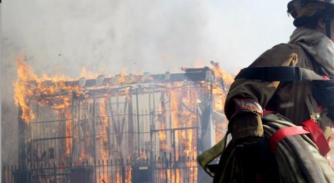 Намериха труп след пожар в плевенско село