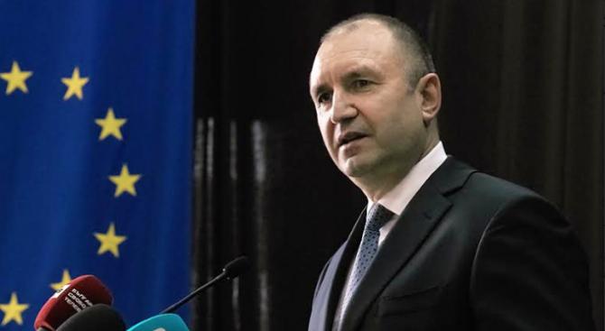 Румен Радев: Зелената сделкана ЕСщеочертае новоразделениемежду държавите