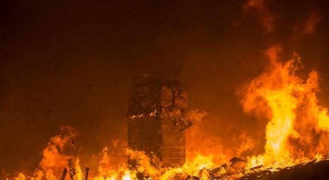 71-годишен мъж загина при пожар в дома си