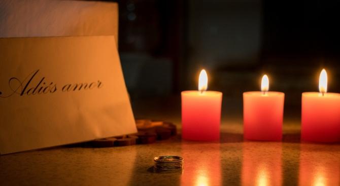 Бар за разбити сърца утешава самотни хора в Деня на влюбените