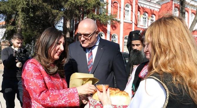 Американският посланик Херо Мустафа посети Видин