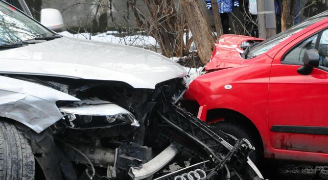Катастрофа в Бургас с един ранен човек