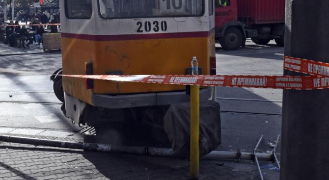 От Института за пътна безопасност с остра позиция след инцидента с трамвай в София