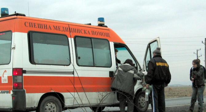 84-годишен перничанин помете своя съгражданка с колата си