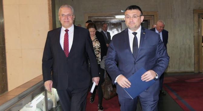 Младен Маринов се срещна с колегата си от германската федерална провинция Свободна държава Бавария