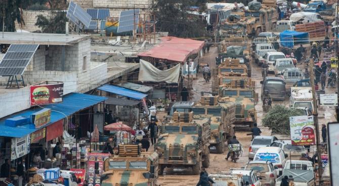 Силите на сирийския режим печелят територия в провинция Идлиб