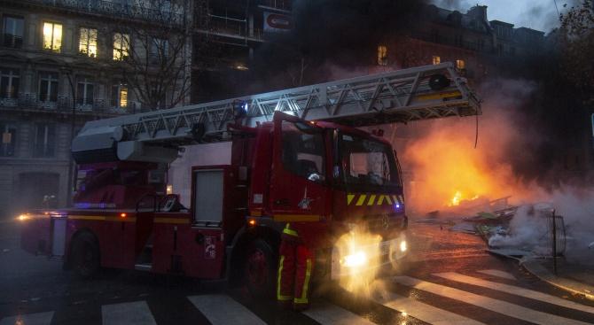 Пожарът в Страсбург е умишлен