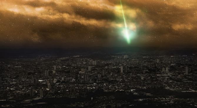 Ярък метеор експлодира над Централна Европа
