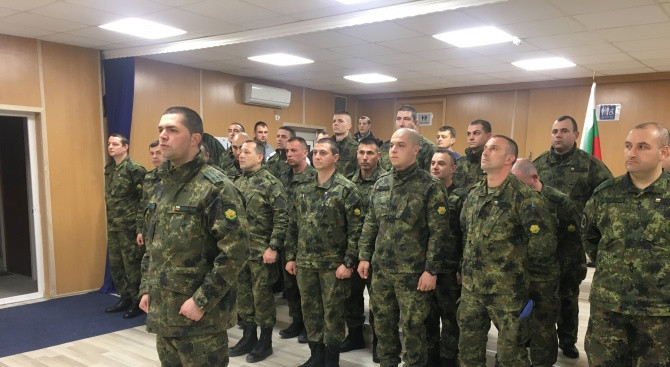Поредна ротация на българския контингент в мисията на НАТО в Косово