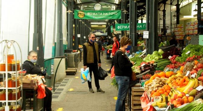 НСОРБ призовава кметовете за строг контрол по спазване на въведените противоепидемични мерки по пазарите