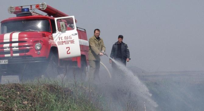 ТИР се запали на пътя Стара Загора - Димитровград