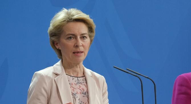 Урсула фон дер Лайен: Трудностите ни правят по-силни
