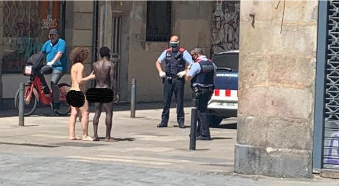 Полицията в Испания се натъкна на гола двойка по улиците, разследва сексуално насилие