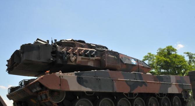 Ще обявят поръчка за нови танкове след края на извънредното положение