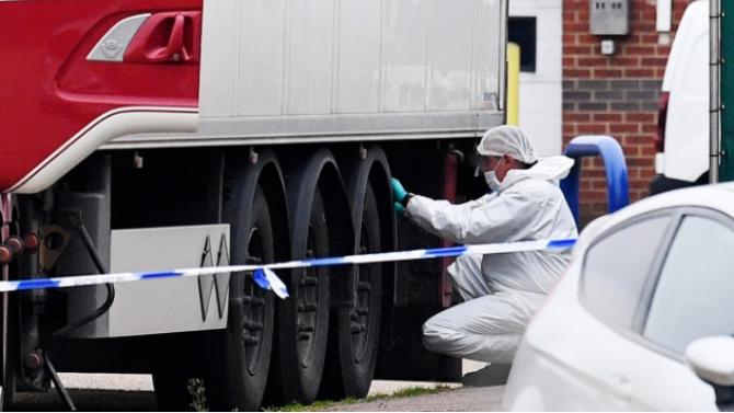 Масови арести в Белгия и Франция заради откритите тела на мигранти в камиона-ковчег в Есекс
