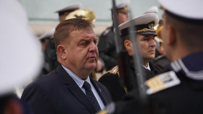 """Каракачанов ще наблюдава съвместните бойни стрелби """"Шабла-2020"""""""