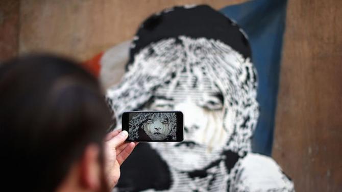 Открадната творба на Банкси от Париж бе открита в Италия