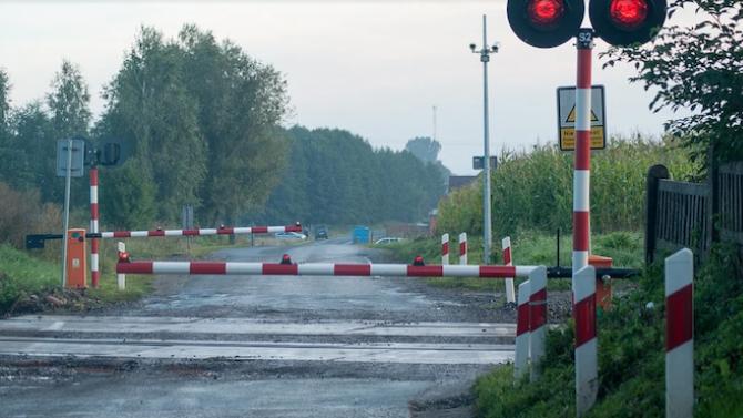 НКЖИ отбеляза Международния ден за безопасно преминаване през жп прелезите