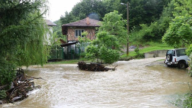 Заради пороите наблюдават река Янтра във Велико Търново