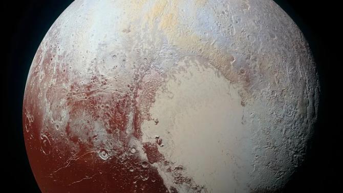 Плутон бил покрит с океани
