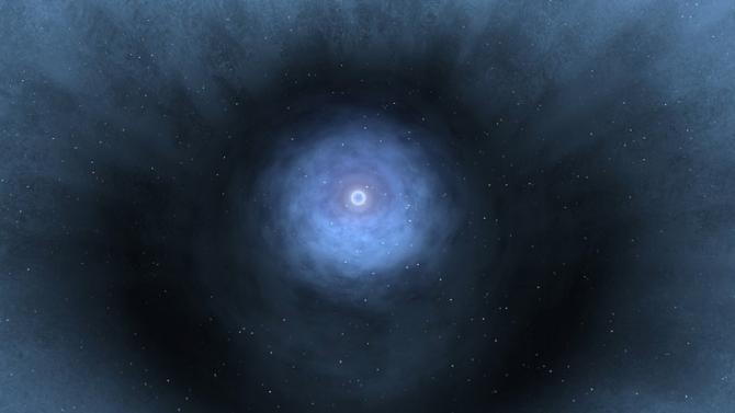 Масивна звезда внезапно изчезна от съседна галактика-джудже