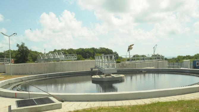 Откриха разширената и реновирана пречиствателна станция в Китен