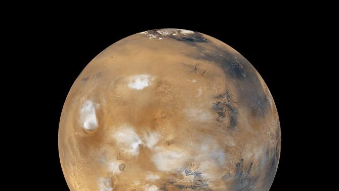Марс била покрита с големи ледници