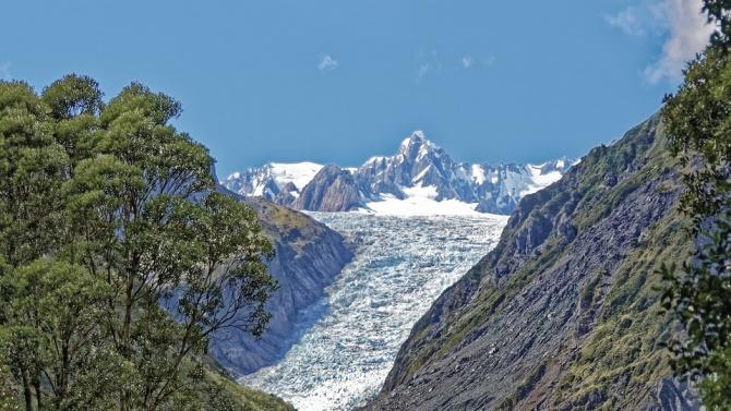 Затоплянето в резултат на човешка дейност е причина за топенето на новозеландски ледници