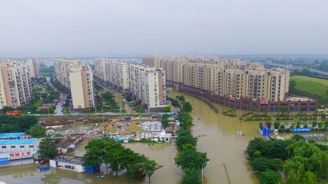 Летните наводнения в Китай причинили щети за 25 млрд.  долара